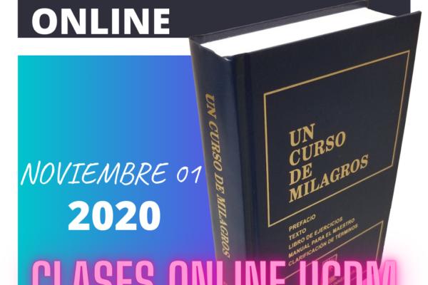 Inicio de Clases NOVIEMBRE 2020